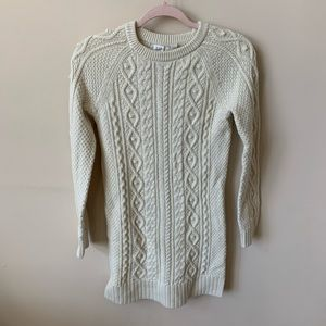 Gap girls cable knit sweater dress #1892